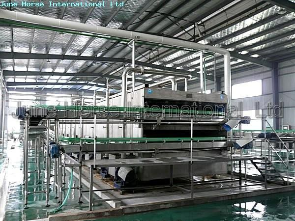 Tunnel Pasteurizer/Pasteurization Machine 10000BPH