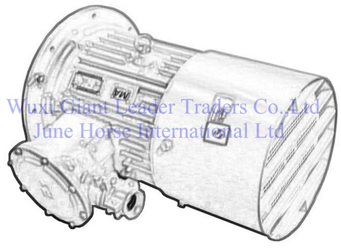 Low Voltage Flamepoof Electric Motors for Scraper Conveyor